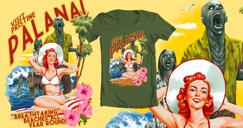 Visit Palanai! by Rising Zan on Threadless