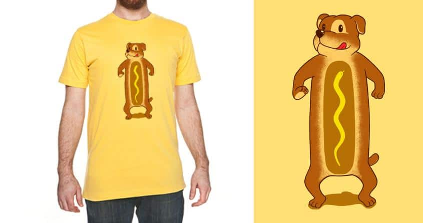 Wiener Dog by Shadyjibes and Stereomode on Threadless