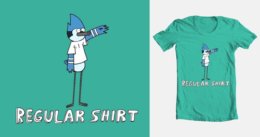 regular shirt by chuckpcomics on Threadless