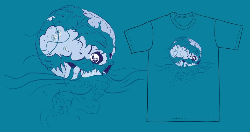 """""""One, If By Land, And Dead, If By Sea"""" by StarvinRtst on Threadless"""