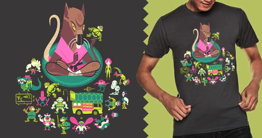 Sensei's Collection by Albinoraven on Threadless