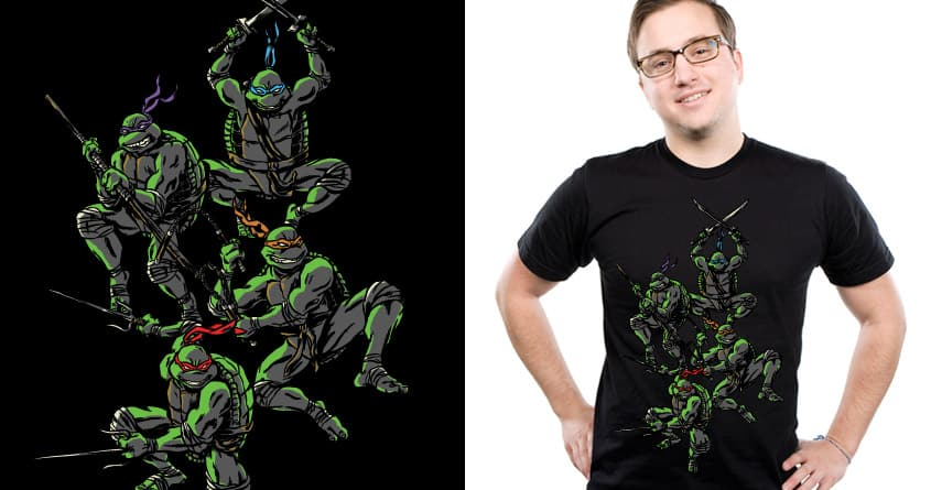 Ninja Vanish by cpdesign on Threadless