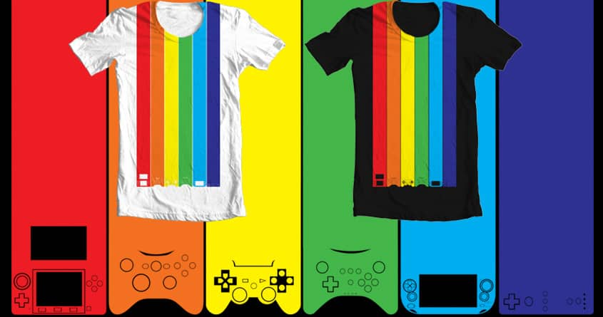 Rainbow Gamer by Verreaux on Threadless