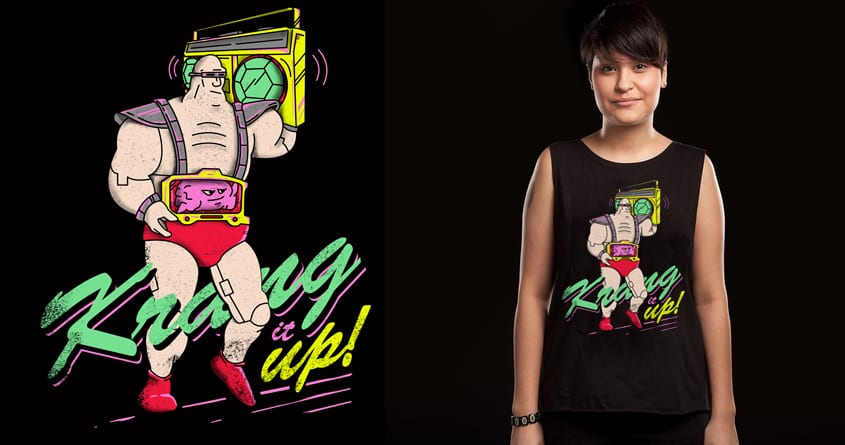 Krang it up! by campkatie on Threadless