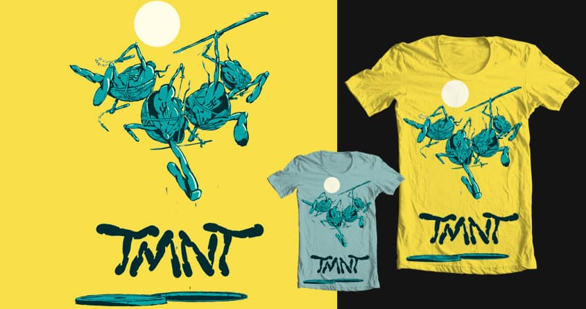 TMNT by Vic* on Threadless