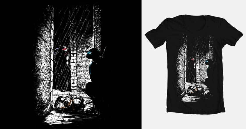 A light in the dark by obestel on Threadless