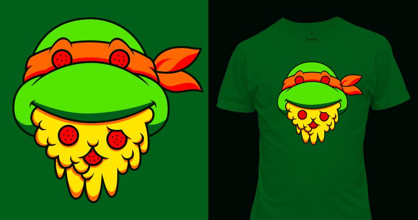 Pizza MMXIII by Salamanderlich on Threadless