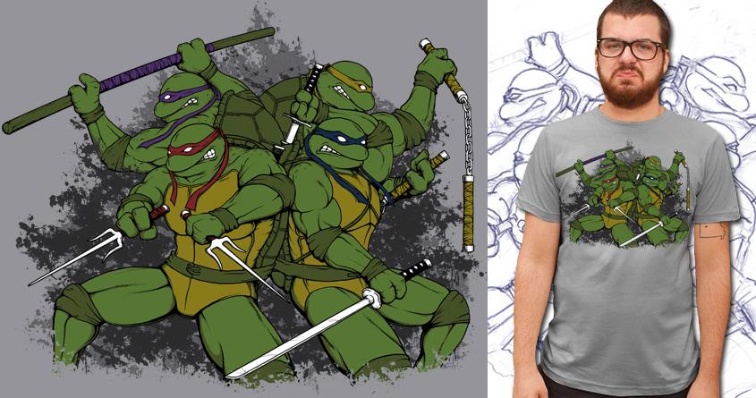 It's Ninja Time by Doodle by Ninja! on Threadless
