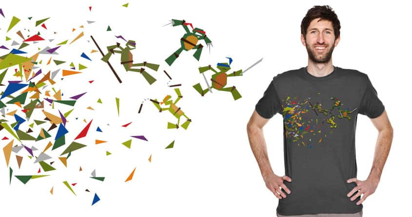 Teenage Mutant Ninja Triangles by MerryMimic on Threadless