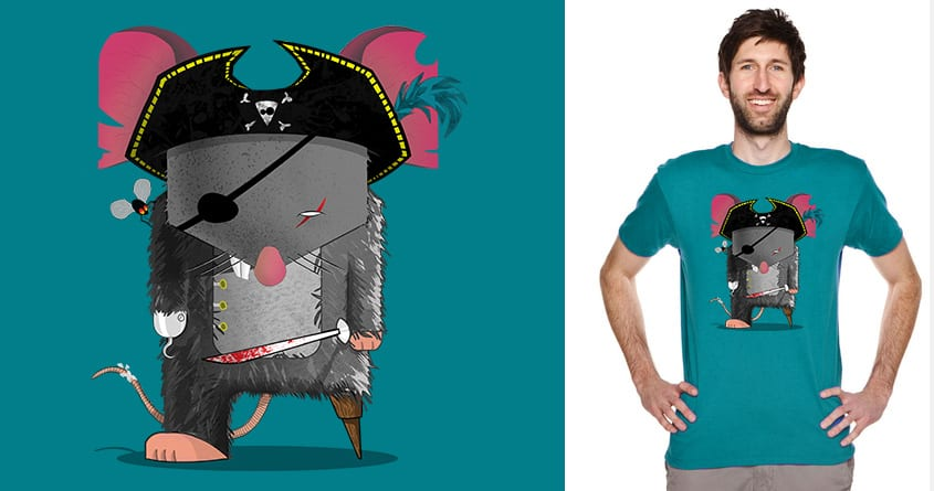 Pi-rat of the Curry'bean. by azrael5 on Threadless