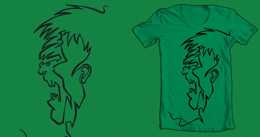 I just drew a line by RicoMambo on Threadless