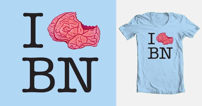I <brain> Banoi by biernatt on Threadless