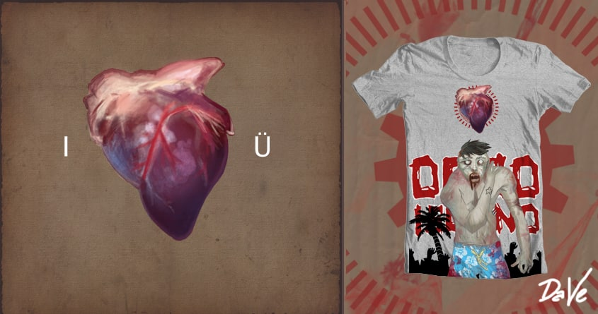 Dead Heart by davedave2141 on Threadless