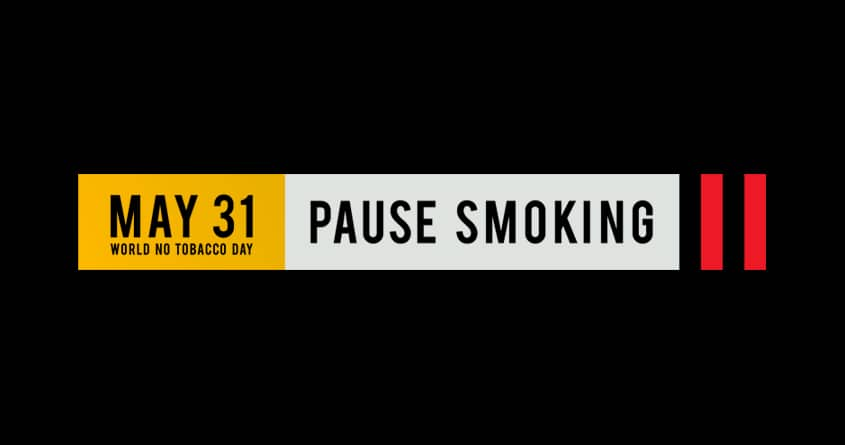 PAUSE SMOKING. May 31 — World No Tobacco Day. by Alexander Dashutin on Threadless