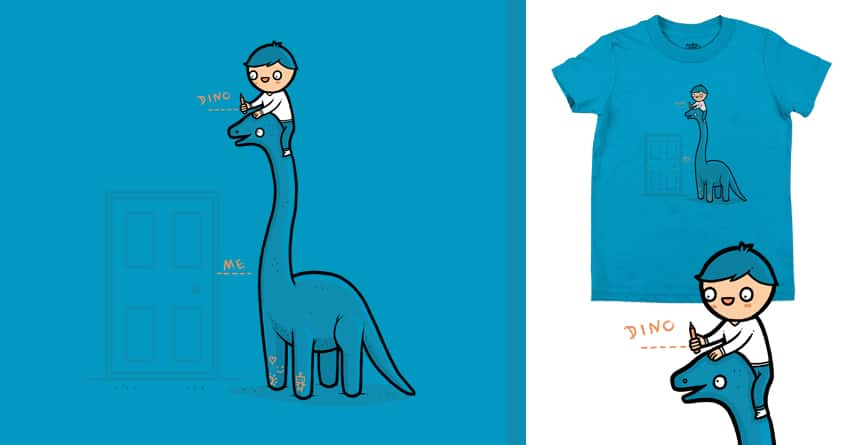 Dino Height by randyotter3000 on Threadless