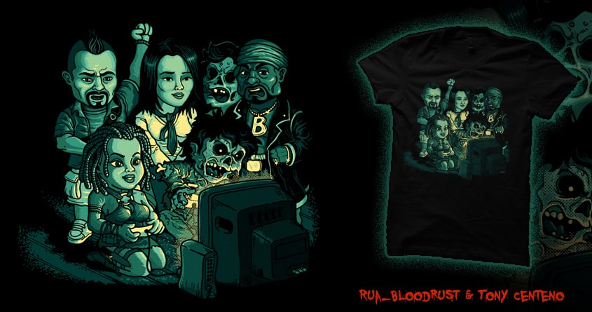 The Real Battle Begins by Tony Centeno and rua_bloodrust on Threadless