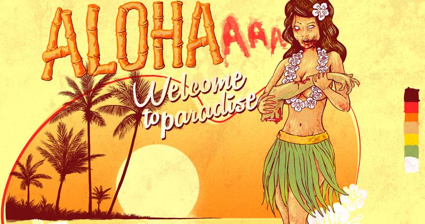 ALOHAaaa by Ellsswhere on Threadless