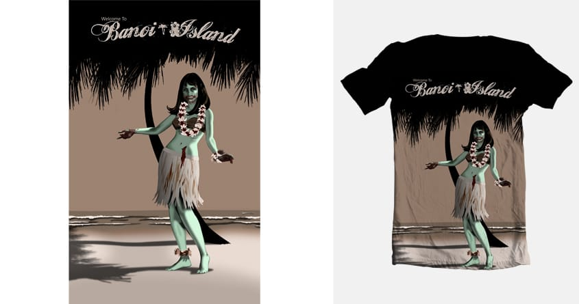 Welcome To Banoi Island by iammitchconner on Threadless