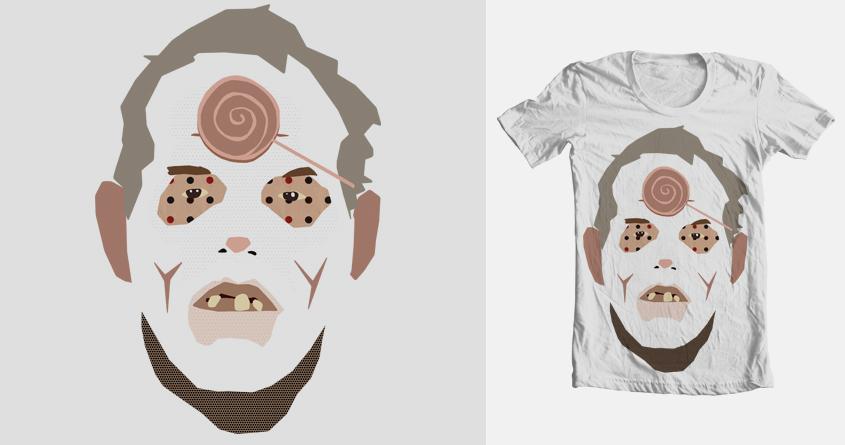 Lolli Zombie by KosMarkatos on Threadless