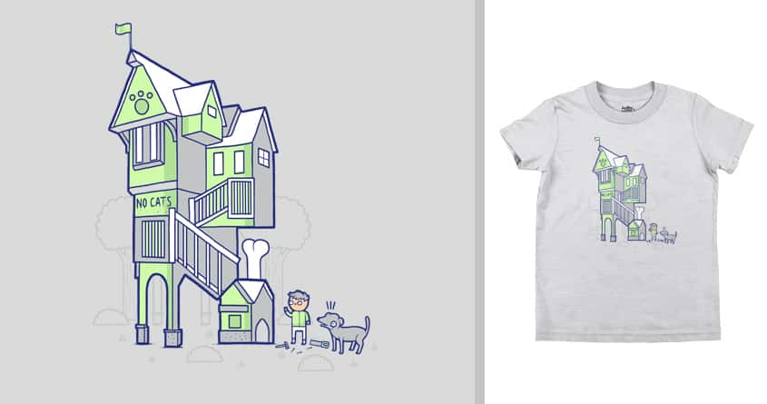 Dog house by randyotter3000 on Threadless