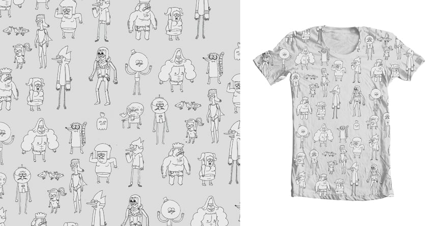 regular get together by 12sfumato12 on Threadless