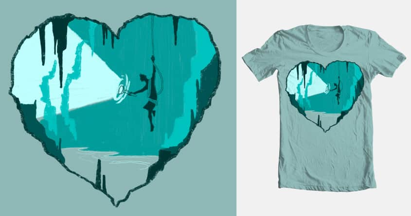 Caverns of the heart by bswissHD on Threadless
