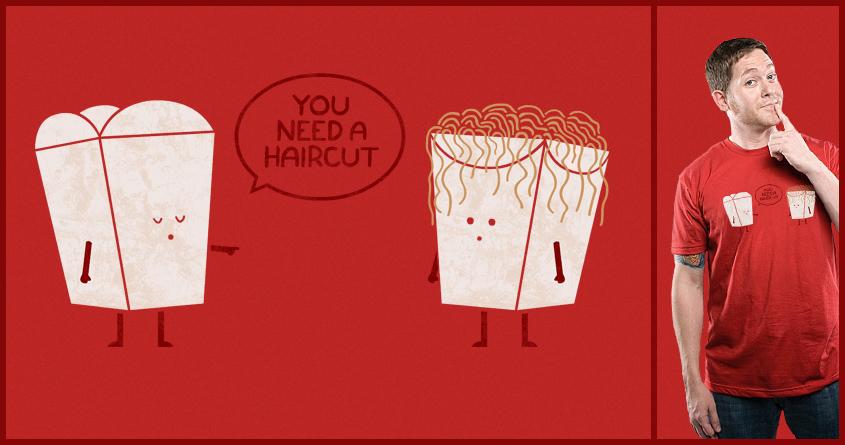 Haircut by TeoZ on Threadless