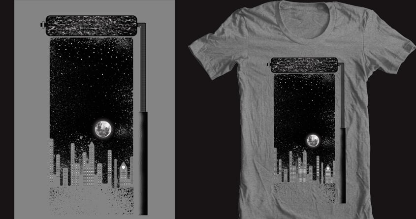 Painting The Night Sky by JIMDAHOUSECAT on Threadless