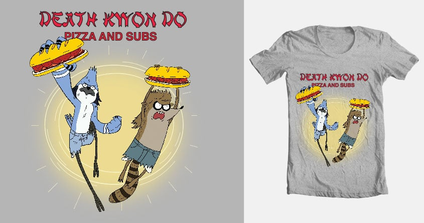Death Kwon Do - Pizza and Subs by mannyhernan on Threadless