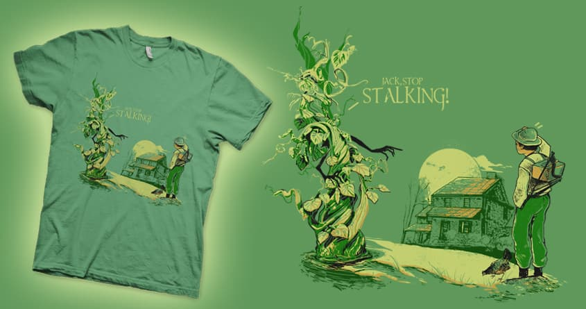 Jack,The Bean Stalker by iamrobman on Threadless