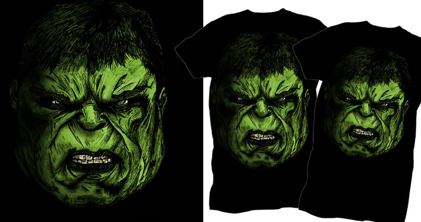 Angry Boy by helenangel on Threadless