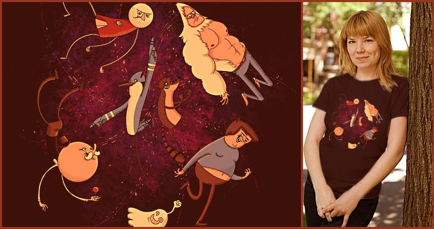 Just Another Regular Day by L-M-N-O-P on Threadless
