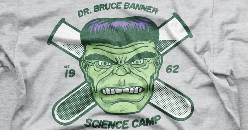 Dr. Bruce Banner Science Camp by r.o.b.o.t.i.c.octopus on Threadless