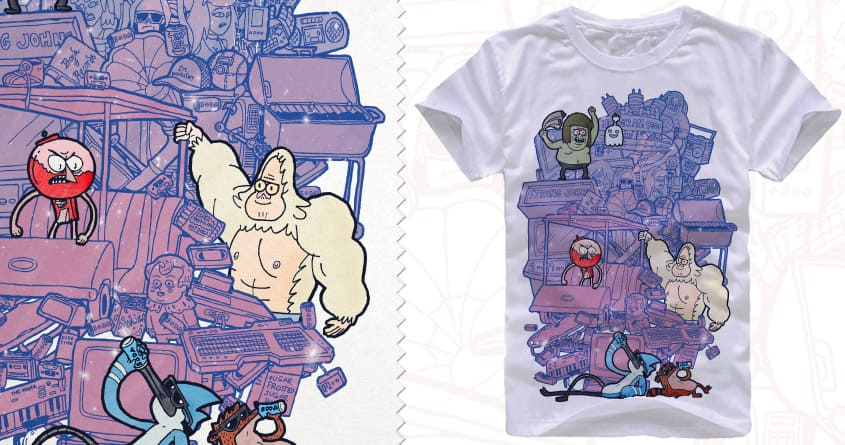 Now clean up this mess! by blinski on Threadless