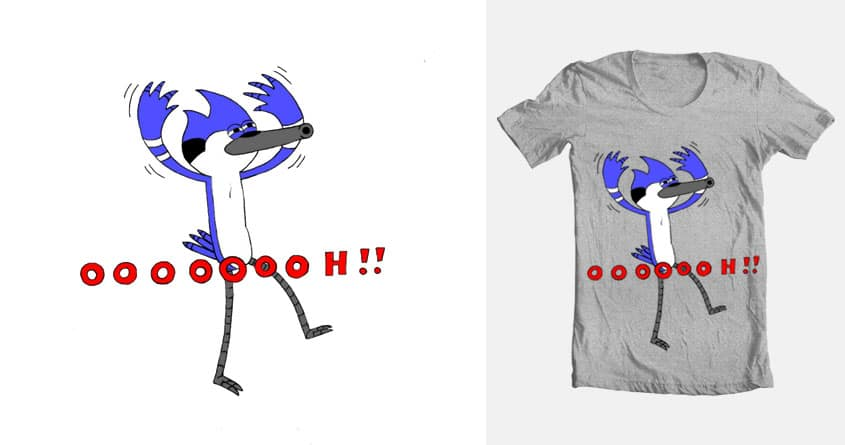 Victorious Mordecai by Sassa Fras on Threadless