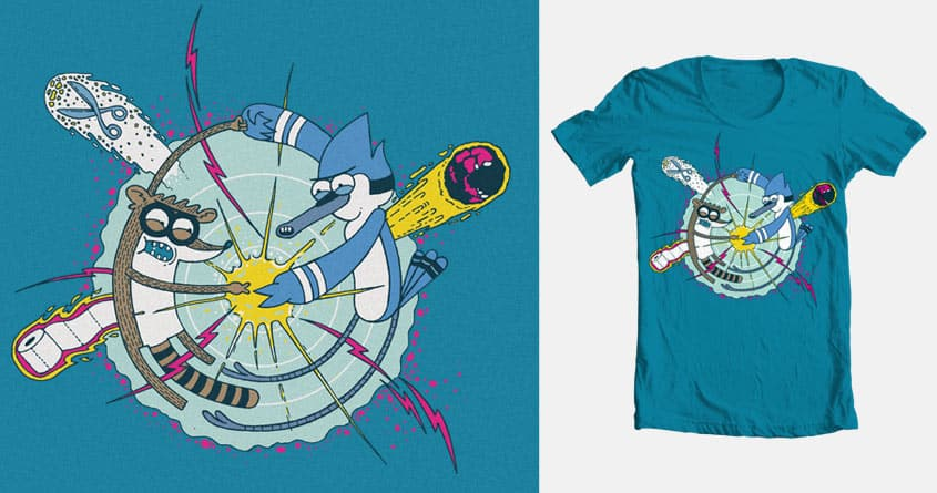Extreme Rock-Paper-Scissors! by Chamuko on Threadless