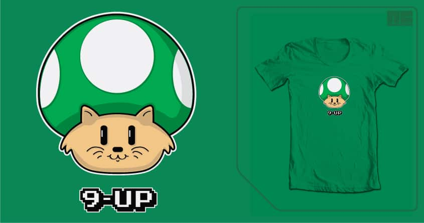 9-Up Mushroom by NCowick on Threadless