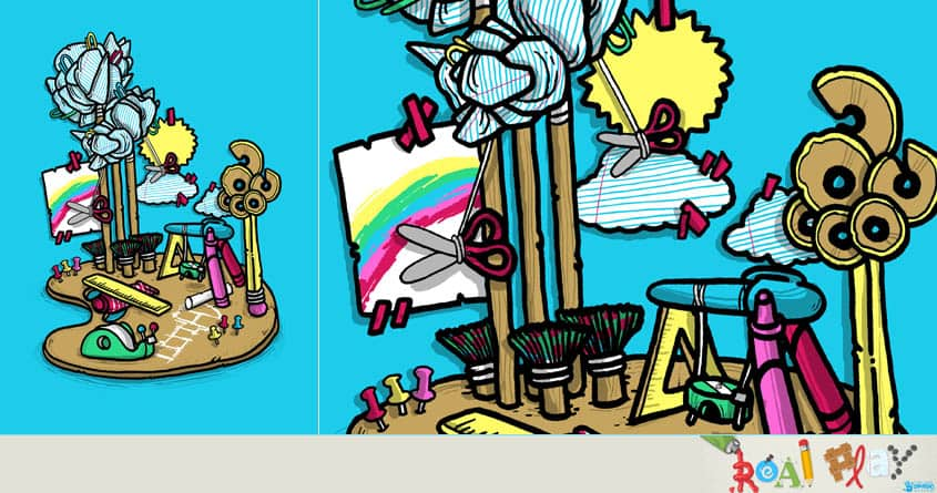 Creative Playground by anwarrafiee on Threadless