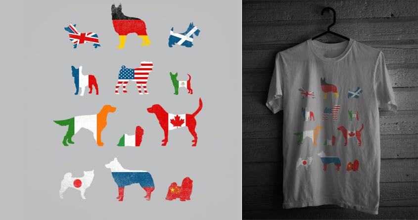 Many Nations Under Dog by admrjcvch on Threadless