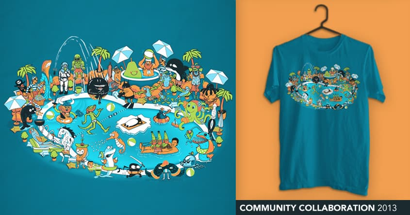 Pool Party by Community Collaboration 2013 on Threadless