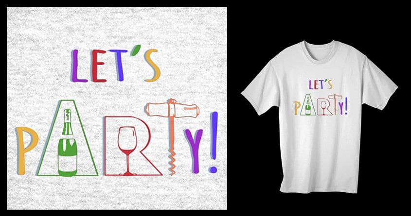 Let's Party! by ArTrOcItY on Threadless