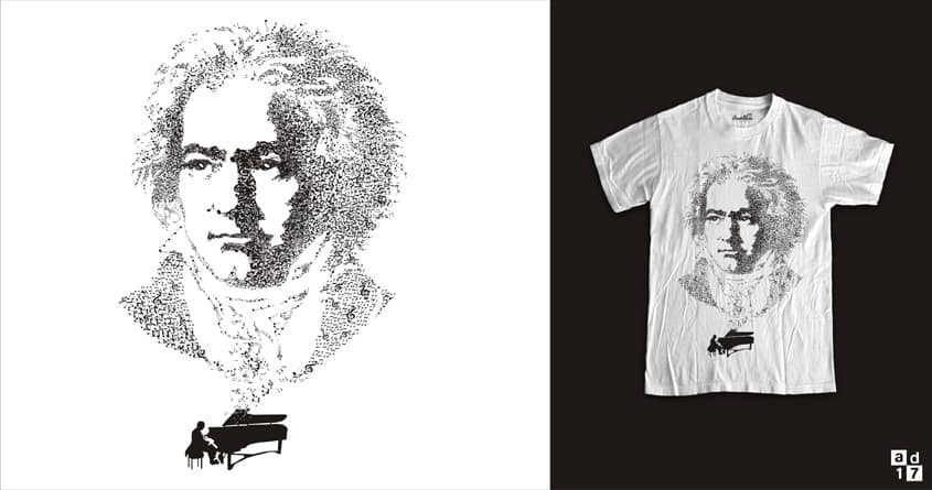 beethoven symphony by a.d.17 on Threadless