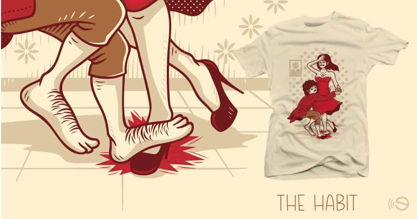 The Habit by gebe and ourgraphicfaith on Threadless