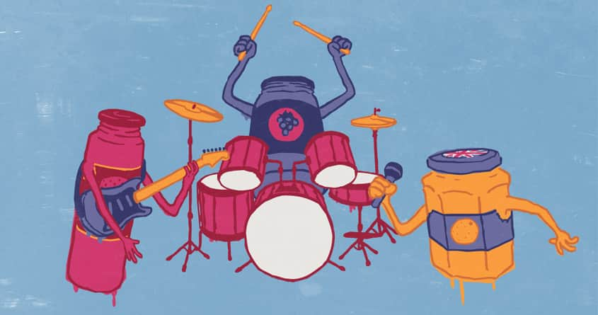 Let's Jam by matterrr on Threadless