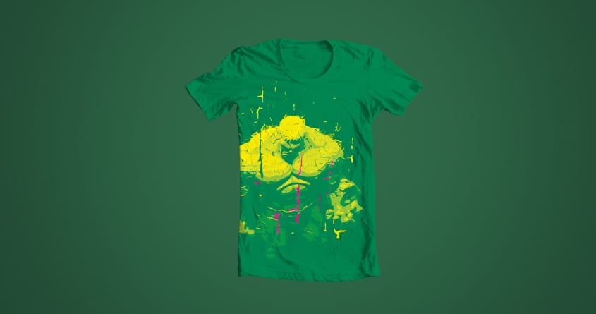 RainBloodSmash by KosMarkatos on Threadless