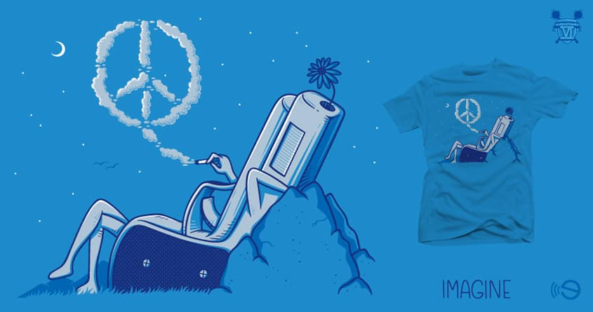 Imagine by gebe on Threadless