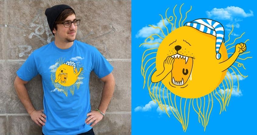 GOOD MOANING by Stereomode on Threadless