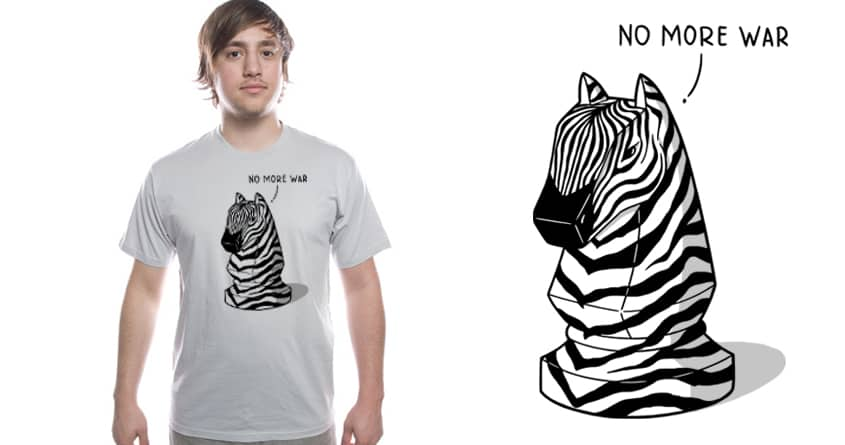 NO MORE WAR by Stereomode on Threadless