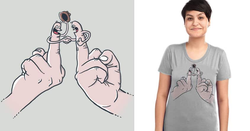 A Stranger's Just a Friend You Haven't Met by FRICKINAWESOME and italiux on Threadless