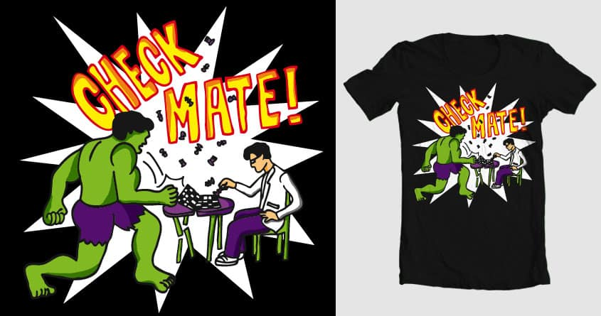 Check Mate! by Danilo5 on Threadless